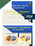 ENCINAS Alejandro - Perspectiva y Desarrollo de la U.N.ICA