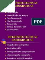 TECNICAS RADIOGRAFICAS 2009