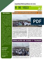 Boletin Informativo Pantanos de Villa 02