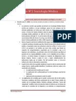 Apunte n°2 Sociología Médica