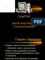 Serial and Parallel Communication