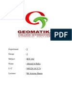 Chemistry Report 1