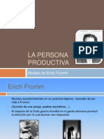 Erick Fromm - La Persona Productiva