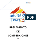 Reglamento triatlon