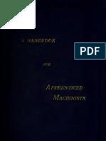 Handbook Machinists