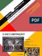 ABSTRAÇÃO GEOMÉTRICA NA ARTE BRASILEIRA power point 2