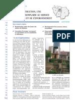 EXA Réhabilitation & éco-construction _St-Denis (93) _areneidf2003