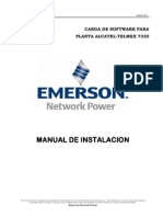 Manual de Carga de Software Planta Alcatel-Telmex 7330