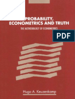 Keuzenkamp H.a. Probability, Econometrics and Truth (CUP, 2000)(ISBN 0521553598)(324s)_GL