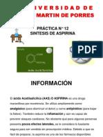 Practica Semana 12 Aspirina