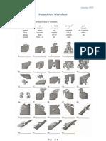 Microsoft Word - Prepositions Worksheet