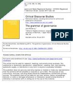 Muiderrig the Grammar of Governance