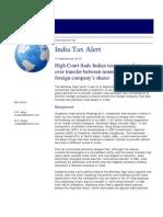 Dtt Tax Alert India 140910