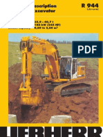 Technical Description Hydraulic Excavator Operating Weight 35,9 – 40,7