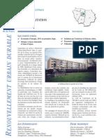 93 Montreuil _réhabilitation de HLM et HQE _areneIdF