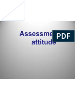 Assessment of Attitude