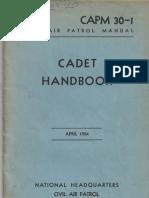 CAPM 30-1 Cadet Handbook April 1954