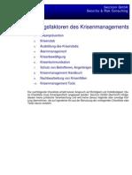 Krisenmanagement Checkliste