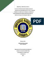 Contoh Proposal Proma Sistem Informasi