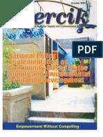 Indonesia Water Supply and Sanitation Magazine PERCIK October 2003.
