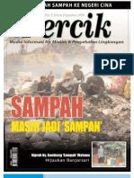 Sampah Masih jadi 'Sampah'. Media Informasi Air Minum dan Penyehatan Lingkungan PERCIK Edisi Agustus 2004.