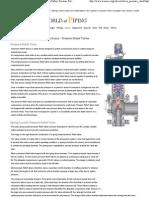 Safety- Pressure Relief Valve (PRV)