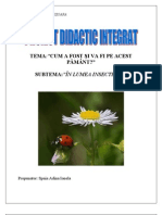 Proiect in Lumea Insectelor(1)
