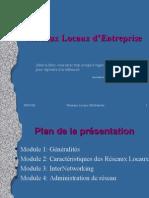 Réseaux Locaux d'Entreprise V1.0