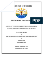 Final Internship Report pdf | Active Directory | Network Switch