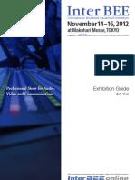 InterBEE 2012 Exhibit Info Full e