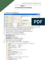 Modul5-SourceCodeFormInputDataBarang