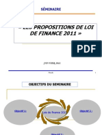 Loi de Finanace 2011
