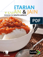 Guide to Vegetarian, Vegan and Jain Dining in South Africa