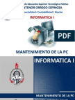 01. Mantenimiento de La PC