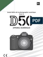 Manuel Nikon D50