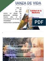 ESPERANZA DE VIDA EN ECUADOR
