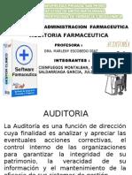 AUDITORIA FARMACEUTICA