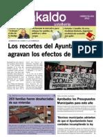 6º Numero Periodico contra los Recortes y Corrupcion Municipal - Junio 2012