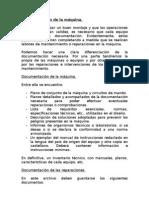 Documentación de la máquina