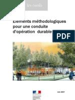 Elements Methodologiques Cop Durable