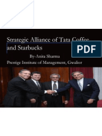 Tata and Star Bucks SWOT analysis
