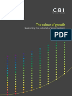 CBI - The Colour of Growth - Maximising the Potential of Green Business