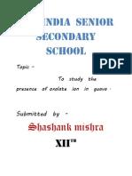 All India Senior Secondary School