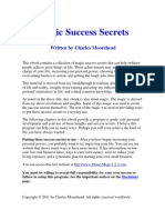 Magic Success Secrets