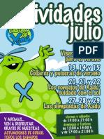 Actividades Infantiles Xanadú Julio 2012