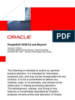 Oracle - PeopleSoft HCM 9 Release 9.0 and Beyond