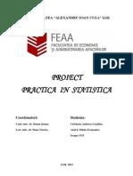PROIECT STATISTICA ANUL 1