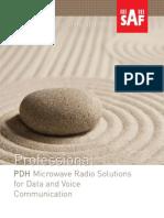 CFM Product line brochure