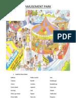 Amusement Park Worksheet
