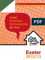 OurLocalExpert Exeter 12-13